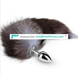 Beautiful Fox Tails Stainless Steel SM Special Purple Fox
