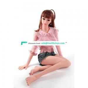 Beautiful Realistic Doll Metal Skeleton 3 Openings Vaginal Anal Oral Breast  Sex  Young Silicone Sex Doll