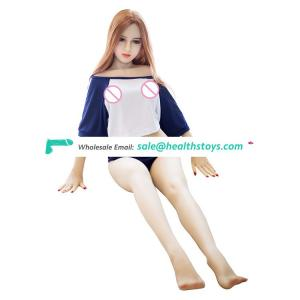Big ass breast female torso used silicone sex doll