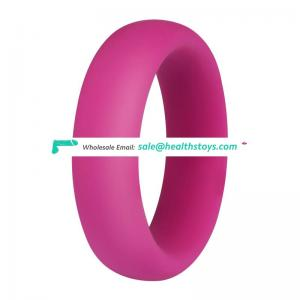 Big round penis warm silicone cock rings for men