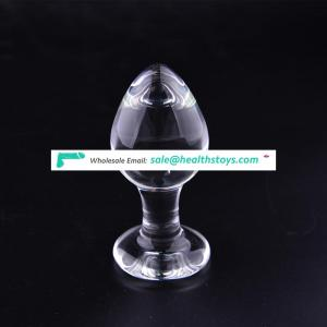 Classic Glass anal plug butt plug for men