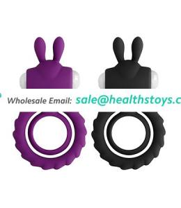 Cock ring penis waterproof vibrating penis silicone cock ring for sale
