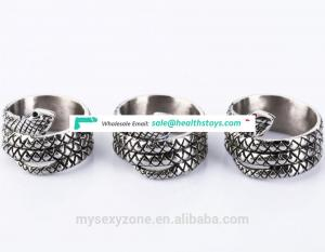 Delay time penis ring Stainless Steel cock loop for men Sex Products