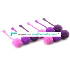 Doctor recommend kegel ball set of 6 silicone kegel pelvic muscle trainer ben wa balls