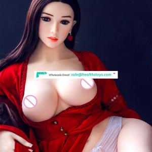 FREE SHIPPING Real TPE Sex Doll Silicone Realistic Love Doll With Big Breast For Man Sex