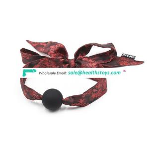 Fabric lace fetish mouth gag bdsm bondage restraints mouth ball gag