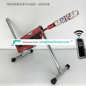 Factory price Adjustable speeds artificial penis masturbator sex toy making machine for adult