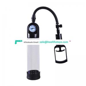 Factory price High quality Dashboard display silicone base handsome up penis pump for men