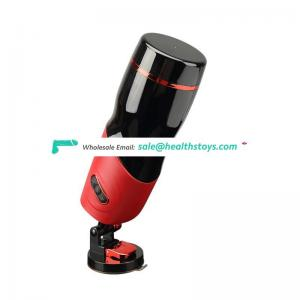 Factory price Strong motor Hands-free suction cup Automatic stroker masturbator for men