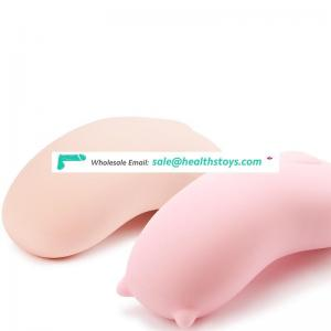 Factory price cute shape 10 frequency vibration Silent motor vibrating silicone egg for women