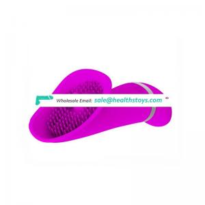 Factory price women massage low noise soft comfort silicone wand vibrator for female