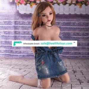 Factory wholesale 100cm sex doll lifelike  mini sex doll 67th head young girl 18 sex love doll