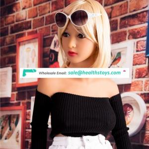 Factory wholesale 138 cm full silicone sex doll lifelike sex doll china top quality young girl 18 sex love doll