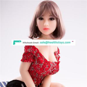 Factory wholesale 140 cm cheap silicone sex doll made in china lifelike sex doll full skeleton