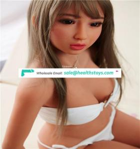 Factory wholesale 140 cm young silicone sex doll lifelike small silicone sex doll