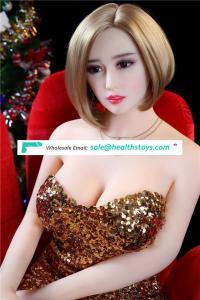 Factory wholesale 148 cm new design cheap silicone sex doll with voice and heating system realistic sex doll 61th head
