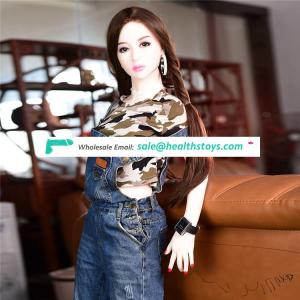 Factory wholesale 150 cm  young girl 18 sex love doll lifelike sexpuppe lebensechte sexpuppe