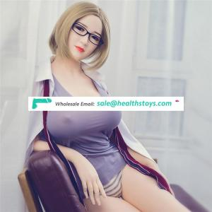 Factory wholesale 168 cm new design silicone sex doll with voice and heating system Muscle sex dolls 163th head