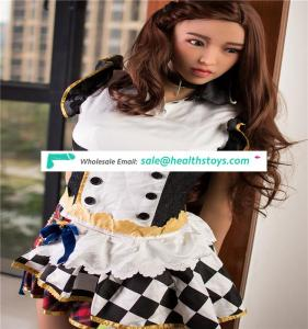 Factory wholesale high quality 165 cm silicone sex doll with voice and heating system lifelike sex dolls 26th head