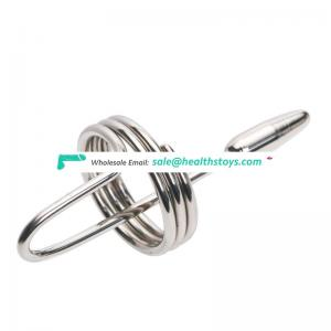 Female urethral plug stainless steel urethral sound catheter
