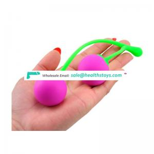 Female vagina ben wa exercise fruit sex toy kegel ball