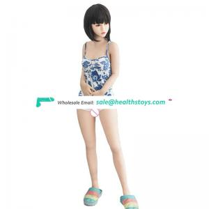 Flat chest young Japanese girl silicone sex doll