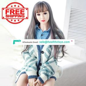 Free Shipping Perfect Body Lovely TPE 160cm Chinese Girl Silicone Doll For Boy