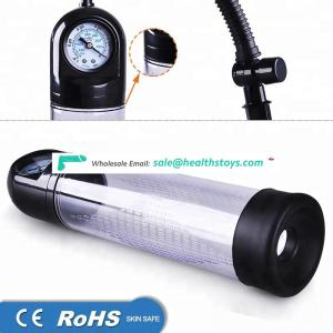 High Quality Manual Gauge Vacuum Device sex toyspenis extender For man masturbator