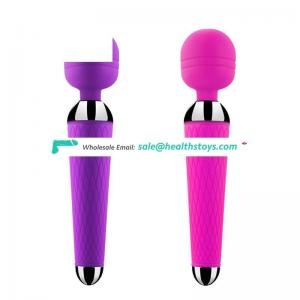 High quality Factory price 10 frequency Rechargeable Magic wand japanese av girls sex toy for women