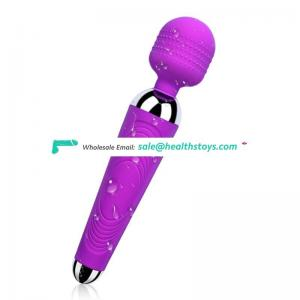 High quality cheaper Medical Silicone 10 frequency vibration sex toy av vibrator for women massage