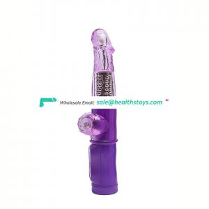 High quality sex toy girl vibrator g-spot vibration rotation dildo