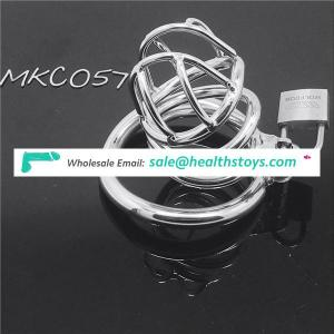 Hot selling Curve Cock Cage Male Chastity device Adult With Curve Cock Ring BDSM Chastity Cock cage C057