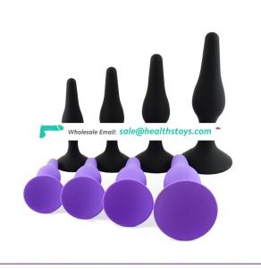 Hot selling anal butt plug fox tail anal plug Vagina Small Size sex toys anal for couples men women masturbator