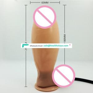 Huge Inflatable Dildo Realistic Soft Dildo Suction Cup Sex Toys for Women