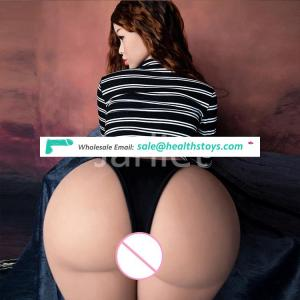 Jarliet 157cm new model big ass pussy 103cm hip Realistic Silicon Sex doll Toys for Man