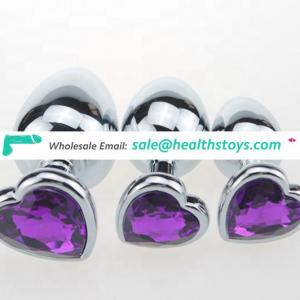 Jewel Butt Plug Sex Toys Prostate Massager Anal Toy for Woman