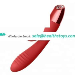Liquid Silicone10 fully vibrating Modes Hot selling Big Automatic Heating massager breast pussy vagina sex toys for woman