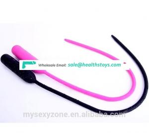 Long Silicone Sex Urethral Sound Vibrators Male Urethral Plug Catheter dilators