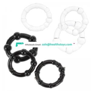 Love Rubber beaded penis head ring sex delay for men