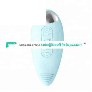 Low noise Little Dolphin shape wired vibrating egg vibrator for women