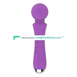Magnetic charging silent rechargeable wireless mini wand massager for Japan AV sex