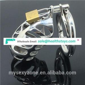 Male Chastity Cage Stainless Steel Men BDSM CBT Sex Bondage Toys Cock Cage