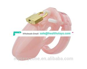 Male Chastity Device With 5 Size Penis Ring,Cock Cages Chastity Lock/Belt CB6000