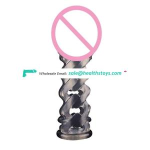 Male Penis Cock Ring Delay Ejaculation Soft TPE,Sex Toy Penis Sleeves For Man