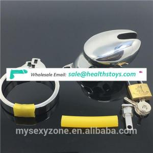 Male chastity device penis lock ring cock cage chastity cage ring SM adult toys