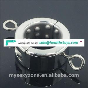 Metal Ball Stretchers Scrotum Pendant Testicles Weight Restraint Lock Ring