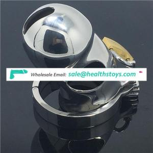 Metal Chastity Device Cage CB6000 CB6000s Stainless Steel Cock Ring Adjustable Penis Ring Chastity Cage PeniBDSM CBT Fetish C027