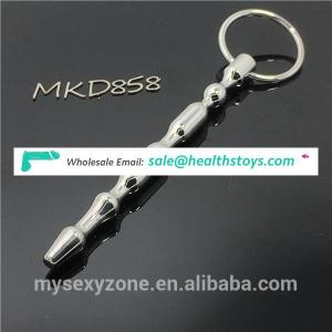 Metal Male Urethral Dilators Stainless steel Penis Plug Urethral Toys