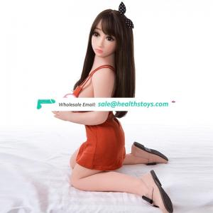 Mini girl silicone sex love doll with big breasts