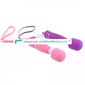 Mini handheld cordless wand massager powerful wand vibrator with hanging set travel gift electric massager